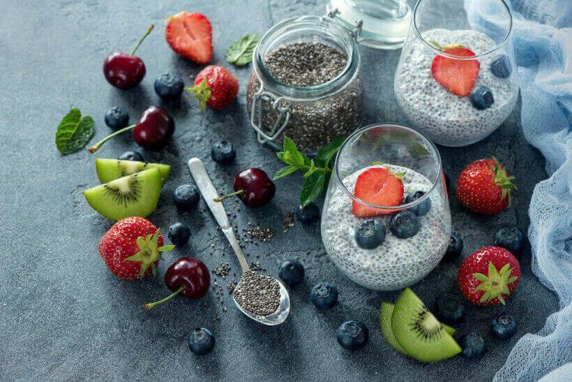Блюда с семян чиа, как кушать