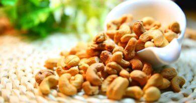 Фото сухих орехов кешью