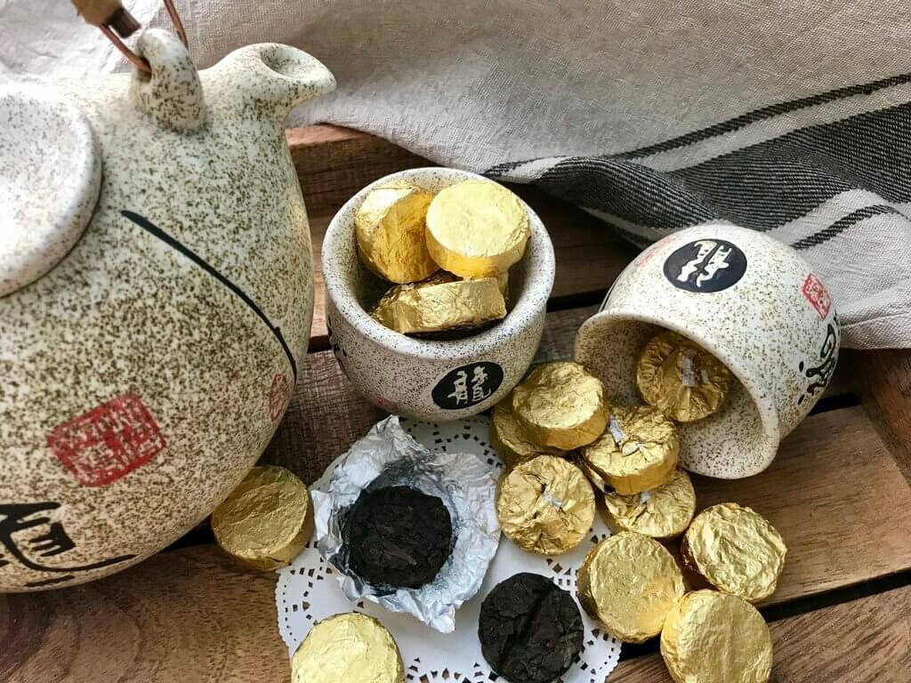 Чай пуэр виды Шен и Шу