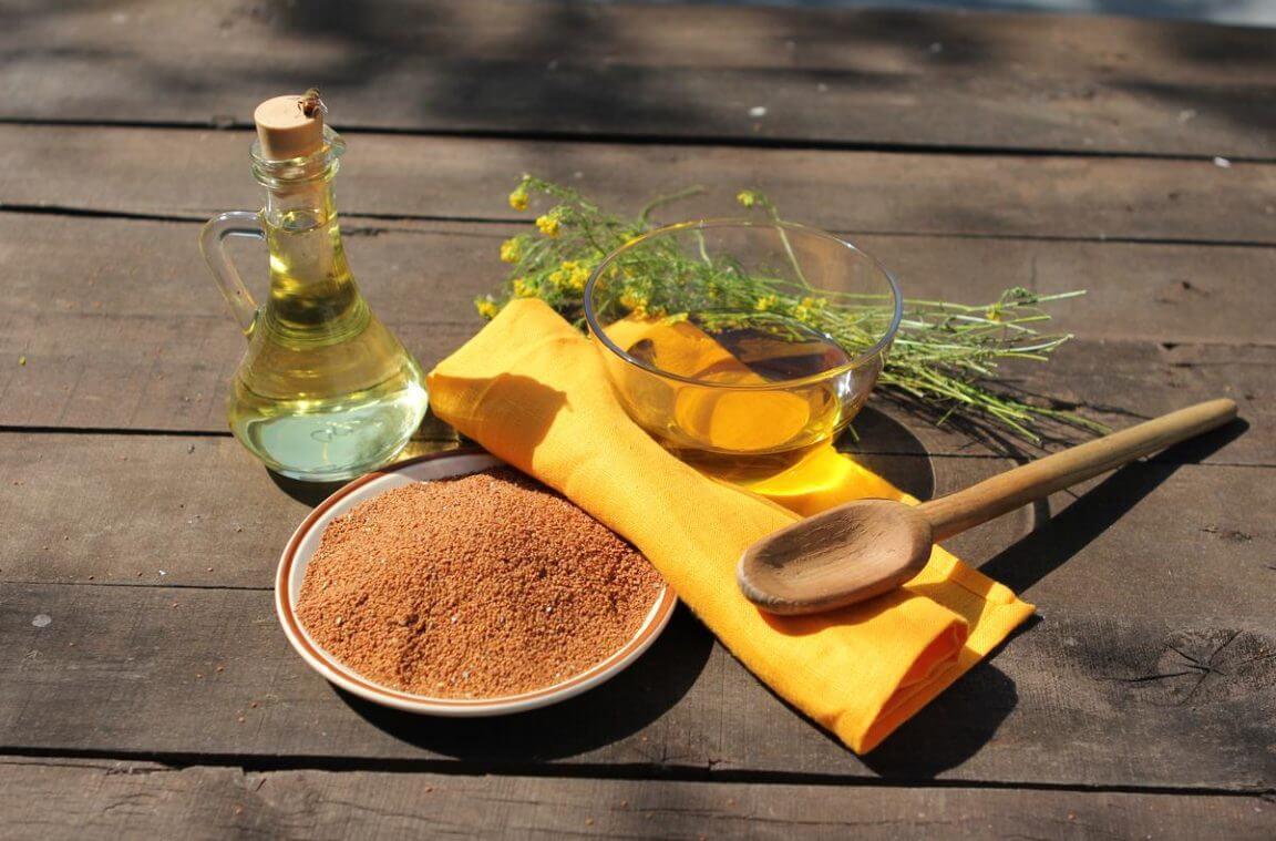 Рыжиковое масло и его компоменты, польза и вред