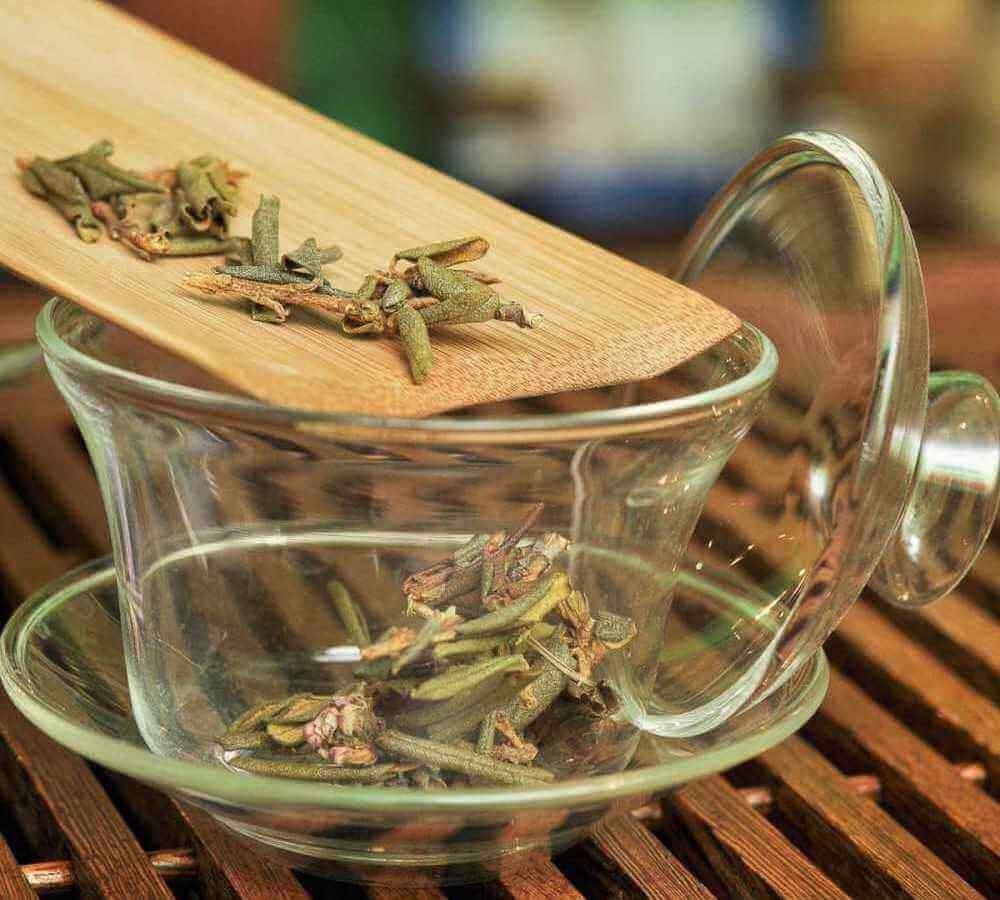 заварка чая Саган Дайля